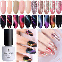 BORN PRETTY 5ml Magnetic Cat Eye Soak Off UV Gel Polish Rose Gold Nail Varnish