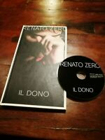 💥Renato Zero - Il Dono Deluxe Book Edition Cd Ottimo LongBox Digipack