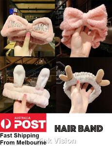 Cute Hair Band For Bath Shower Makeup Wash Face Mask Fashion Hairband AU Stock