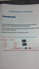 Panasonic txp46gt30 / ST30 tnpa5426 Alimentatore kit riparazione può adattarsi altre POWER 3112