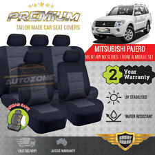 Premium Seat Covers for Mitsubishi Pajero NS NT NW NX 11/2006 - On 5 Seater