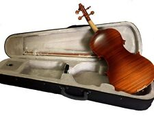 NEW ANTIQUE FINISH TIGER FLAMED 4/4 STRAD FULLSIZE GERMAN VIOLIN FIDDLE