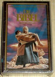 NEU, OVP VHS Video - DIE BIBEL - Am Anfang schuf Gott... Der Monumentalklassiker