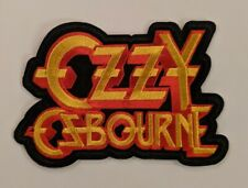 Ozzy Osbourne Embroidered Iron-on Heavy Metal Band Patch