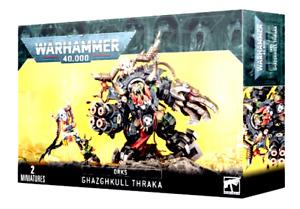 >>   Ork Ghazghkull Thraka Warhammer 40K NIB!