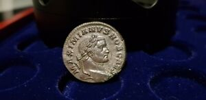 Monnaie romaine follis Maximianus bronze superbe état