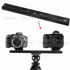 35cm Quick Release Plate for Camera Tripod Ball Head iShoot Double-faced Clamp