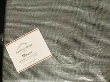"""Pottery Barn Sunbrella® Solid Indoor/Outdoor Grommet Drape 50 x 84"""" Volt Silver"""