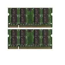 NEW! 4GB 2X2GB MEMORY DELL LATITUDE D520 D531N D630C D830N E6400 E6500 XFR D630