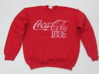 Coca-Cola Red Collegiate 1886 Sweatshirt -XL - NEW