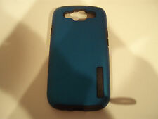 Incipio Galaxy S3 Silicrylic Hard Shell Case with Silicone Core Dark Gray/Blue