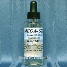 Mega-Steam Scented WOOD STOVE Smoke For MTH Steam Diesel O G HO N Hopper Engine