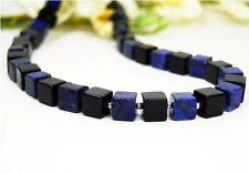 Collar BELLO de Lapislázuli y ónix dados