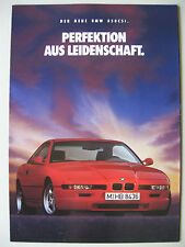 EINZEL Prospekt BMW 8er Coupé E31 850 CSi S70B56 5,6 Modell 1992 1993 deutsch