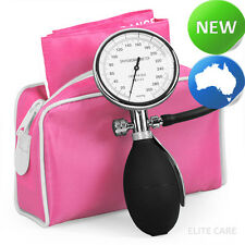 elitecare® - Single Hand Sphygmomanometer BP for Nurses - Pink
