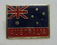 AUSTRALIAN FLAG PIN australia Hat Lapel NEW aussie suit/shirt badge