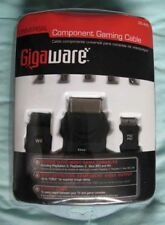 GIGAWARE~UNIVERSAL COMPONENT GAMING CABLE~Wii!~XBOX~PS3