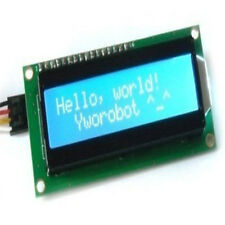 For Arduino Blue IIC I2C TWI 1602 16x2 Serial LCD Module Display