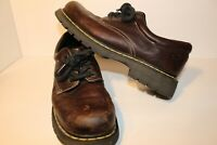 Doc Marten's ~ Oxford Shoes ~ #9369 ~Brown Leather Lace-up ~ Mens US Size 12