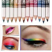 Beauty Makeup Cosmetic Sets Eyeliner Pen Eyeliner Eye Shadow 12 Colors Lip Liner