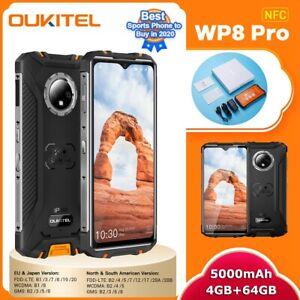 "OUKITEL WP8 Pro 6.49"" MT6762D Octa Core 5000mAh 4GB 64GB IP68 Rugged Smartphone"