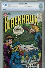 Blackhawk #133 CBCS 5.0 1st Appearance of Lady Blackhawk