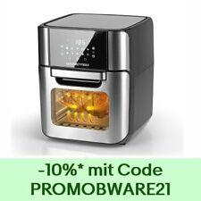 XXXL Heißluft Fritteuse Airfryer Digital Backofen fettfrei Drehgrill 12L Pommes