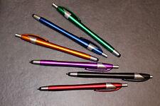 20 x Stylus Touch Pen 2in1 Eingabe Kugelschreiber Tablet Handy für Apple Samsung