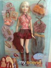 My Scene Feelin Flirty Delancey Barbie Doll Extra Clothes & Accessories New Rare
