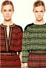 M Missoni Pink Green Black Neon Stripe Knit Sack Dress Sz 40 Small