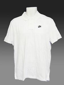 Nuevo Nike Tenis Drifit Polo Blanco M