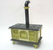 Mini Herd Ofen Kochmaschine Ofenrohr f. Küche Puppenhausmöbel  Miniatur 1:12