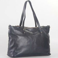 Black Italian Leather Handbag, Purse Hobo Bag, Satchel, Tote, Clutch