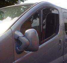HEKO Wind & Rain Deflectors Renault Traffic Mk1 2001>2013 Van Front Set New