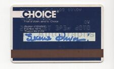 Jeane Dixon - Predicted Death of John F. Kennedy - Signed Credit Card