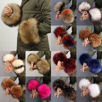 Accessories Elastic Ladies Plush Cuff Windproof Oversleeve Wrist Faux Fur