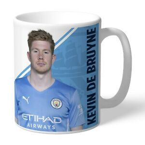 Personalised Kevin De Bruyne Manchester City FC Autograph Mug Man City Fan Gift