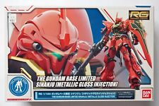 BANDAI RG 1/144 Sinanju metallic gloss injection The Gundam Base limited model