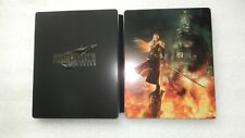 Final Fantasy VII Remake PS4 Steelbook ONLY Square Enix (NO GAME) Steelbook ONLY