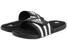 Adidas Adissage Black Slides Shower Athletic Swim Sandal 087609 Womens Size 5-10