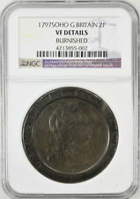1797 SOHO G. Britain 2 Pence VF Details NGC