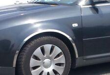 Radlauf Zierleisten Audi A8 D3 4E Vorne Hinten Satz 4 Stück - CHROM '02-10