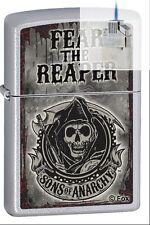 Zippo 28502 sons of anarchy fear Lighter & Z-PLUS INSERT BUNDLE