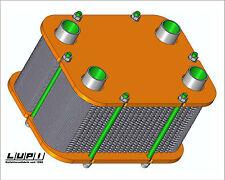Plattenwärmetauscher für Frischwasserstation 100l/min. geschraubt, zerlegbar