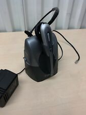 Plantronics CS60 Wireless Headset + Docking Station - Good Cosmetic Condition