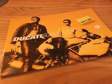 Ducati 900SS 750SS 750 900 SS supersport prospectus moto brochure publicité pub