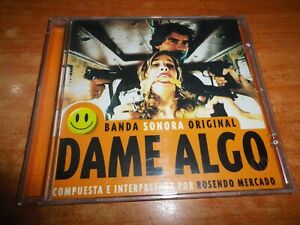 DAME ALGO BANDA SONORA ROSENDO MERCADO CD ALBUM DEL AÑO 1997 CONTIENE 27 TEMAS