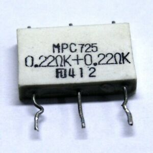 Futaba Emitter resistor 2x0,22ohm 5W