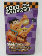 THE FLINTSTONES: A HAUNTED HOUSE IS NOT A HOME ANIMATED VHS VIDEO, CARTOON NETWK