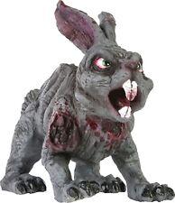 "14"" ZOMBIE RUBBER RABBIT PROP Fake Evil Dead Bunny Scary Killer Magic Gag Prop"